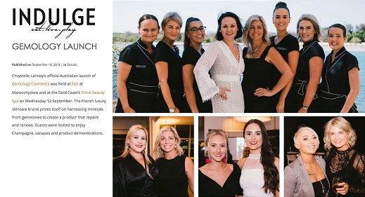 Gemology launch indulge magazine